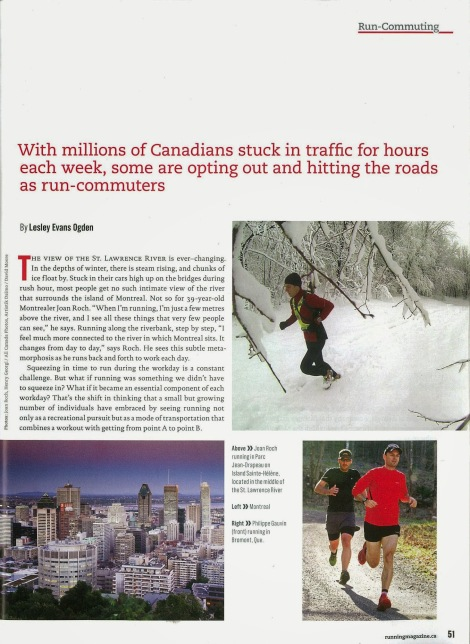 Lesley Evans Ogden, Canadian Running, Vol. 6 Issue 7, Nov. & Dec. 2013, p. 51