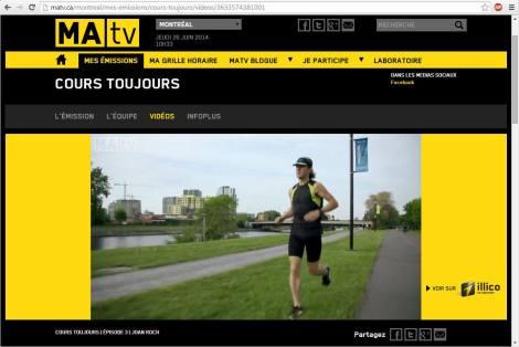 Cours toujours, MATV, 25 juin 2014