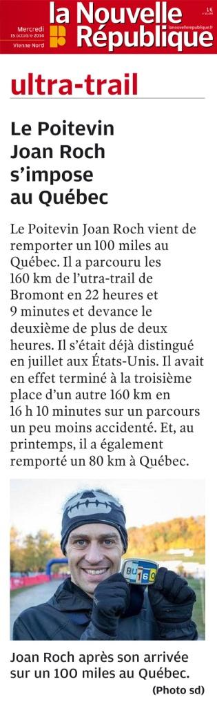 J.-J. Boissonneau, La Nouvelle République, 15 octobre 2014