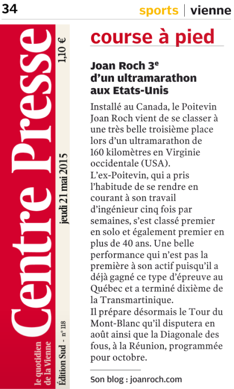 21 mai 2015, Centre-Presse, p. 34