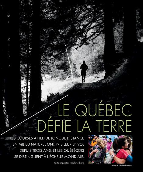 Frédéric Berg, Septembre 2015, Géo Plein Air, p. 51
