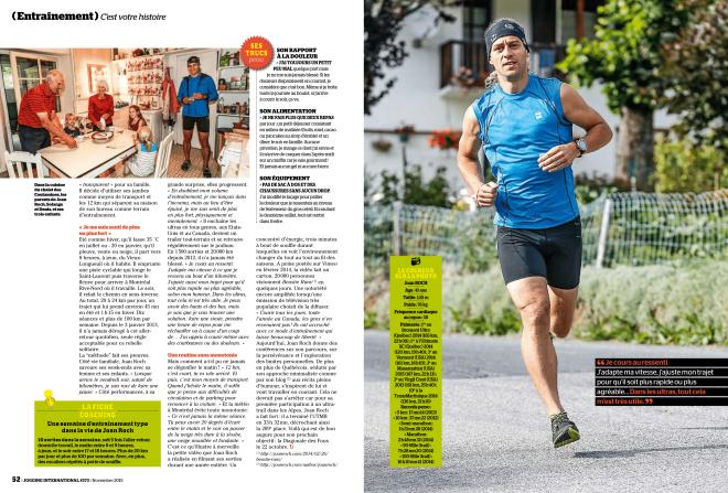 Eliane Patriarca, Septembre 2015, Jogging International, pp. 52-53
