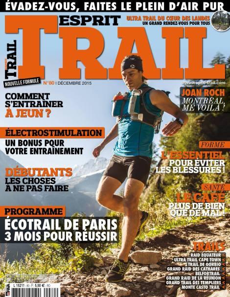 Alexis Berg, Décembre 2015, Esprit Trail, couverture