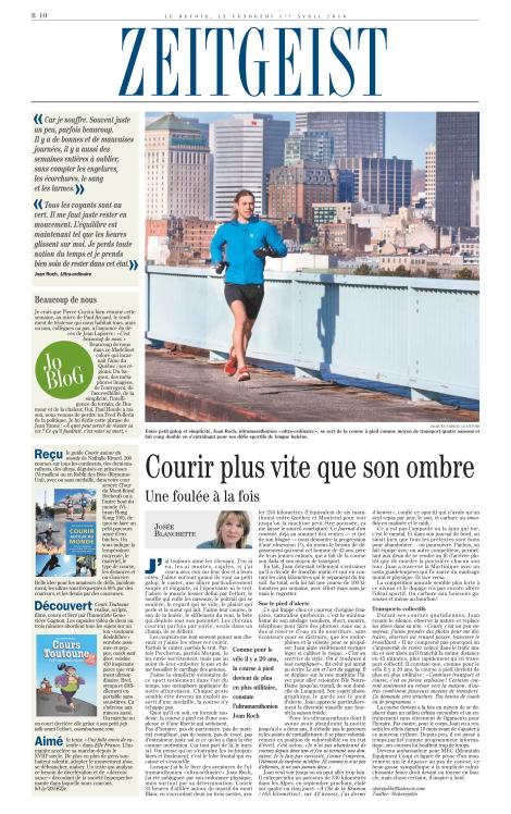 Josée Blanchette, 1er avril 2016, Le Devoir