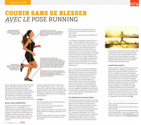 Nathalie Rivard, Espaces, novembre 2014, pp. 32-33
